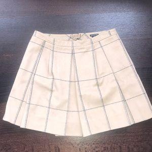 Club Monaco Camel Mini Skirt